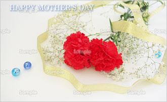 「母の日」メッセージカード