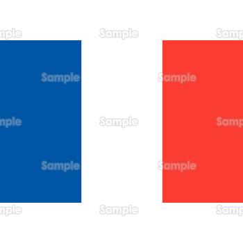 トリコロール/フランス国旗のイラスト(無料)