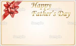 Happy Father's Day(レッド)